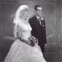 Image of Print, Photographic - Mr. & Mrs. Don Reimer (nee Diane Ainsworth)
