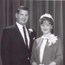 Image of Print, Photographic - Mr. & Mrs. Raymond Smith