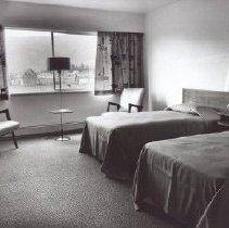 Image of Print, Photographic - Interior of a hotel room