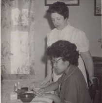 Image of Print, Photographic - Manicure Lesson
