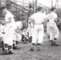 Image of Print, Photographic - Babe Ruth baseball players