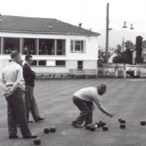 Image of Print, Photographic - Men's Lawn Bowling