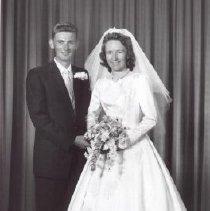 Image of Print, Photographic - Mr. and Mrs. Kurt Schulz