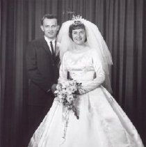 Image of Print, Photographic - Mr. and Mrs. Ray Kornelson