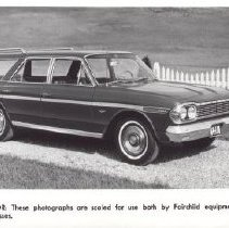 Image of Print, Photographic - Rambler Station Wagon