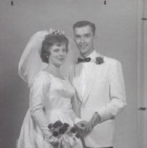 Image of Print, Photographic - Mr. and Mrs. James Paul Riederer