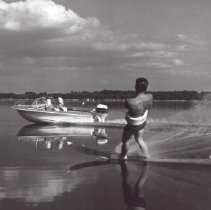 Image of Print, Photographic - Man Waterskiing