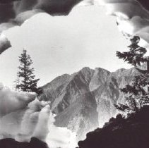 Image of Print, Photographic - Red Mountain
