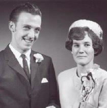 Image of Print, Photographic - Mr. and Mrs. Larsen