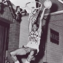 Image of Print, Photographic - Sugar Foot Johnson Basketball Player for the Harlem Court Jesters