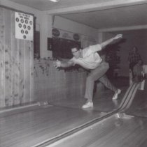 Image of Print, Photographic - Bowler in Action