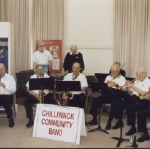 Image of Print, Photographic - Chilliwack Community Band at Chilliwack Museum Exhibit Opening