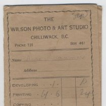 Image of Envelope, Photograph - 2008.020.0043.1 & .2