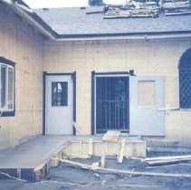 Image of Print, Photographic - St. John the Baptist Anglican Church storage relocation project