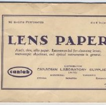 Image of Paper, Lens - 2010.005.0145