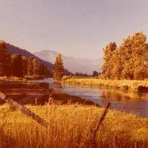 Image of Print, photographic - Valley scene