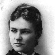 Image of Print, Photographic - Formal portrait of Elizabeth Lizzie Atkinson