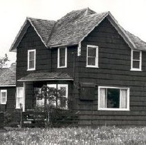 Image of Print, Photographic - Front view of the Samuel Greer house