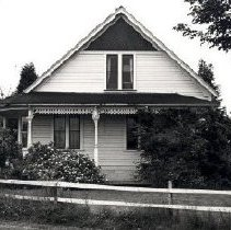 Image of Print, Photographic - Front view of the Andrew Leslie Coote house