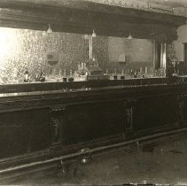 Image of Print, Photographic - Interior view of the bar in the Empress Hotel