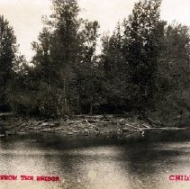 Image of Print, Photographic - Picture postcard view of the Hope Slough