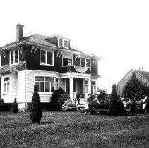 Image of Print, Photographic - Photograph of Edwin Allen Wells' House, Edenbank