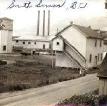 Image of Print, Photographic - View of the Borden Company factory at South Sumas