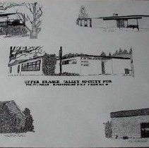 Image of Drawing - Upper Fraser Valley Society for Mentally Handicapped Drawing