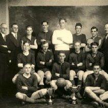 Image of Print, Photographic - Group portrait of the Sardis Football Club