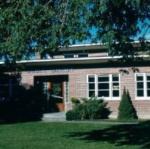 Image of Print, Photographic - Front view of the Chilliwack Public Library