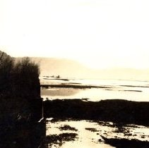 Image of Print, Photographic - View of the Sumas prairie flood of 1935.