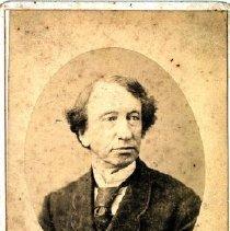 Image of Print, Photographic - Formal studio portrait of Sir John A. MacDonald.
