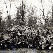 Image of Print, Photographic - Group portrait of members of the local Pacific Coast Militia Rangers.