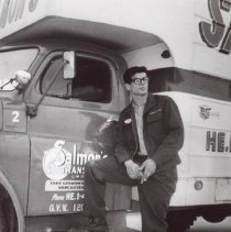 Image of Print, Photographic - Salmon's Transfer Truck