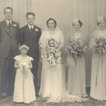 Image of Print, Photographic - Edwards, Zink Wedding