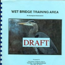 Image of Booklet - Wet Bridge Training Area: An Ecological Assessment (draft)