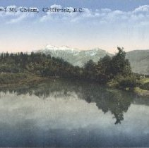 Image of Postcard - Hope River and Mt. Cheam