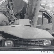 Image of Print, Photographic - Motor Vehicle Accident