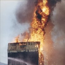 Image of Print, Photographic - Buckerfields on Fire