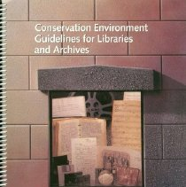Image of Book - Conservation Environment Guidelines for Libraries and Archives