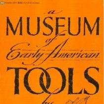 Image of Book - A Museum of Early American Tools
