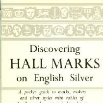 Image of Book - Discovering Hall Marks on English Silver