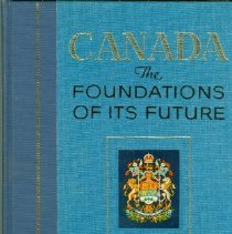 Image of Book - Canada, the Foundations of its Future