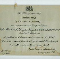 Image of Certificate - Captain Ian Vernon Coote Certificate