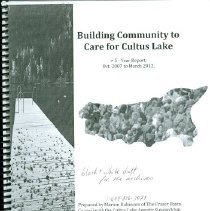 Image of Book - Building Community to Care for Cultus Lake