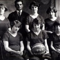 Image of Print, Photographic - Rosedale Athletic Club Senior Girls Basketball Team