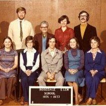 Image of Print, Photographic - Rosedale Elementary School Staff Portrait