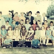 Image of Print, Photographic - Rosedale Elementary School Class Portrait