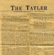 Image of Newsletter - The Tatler Newsletter 1927