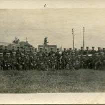Image of Postcard - Postcard of Military Personnel